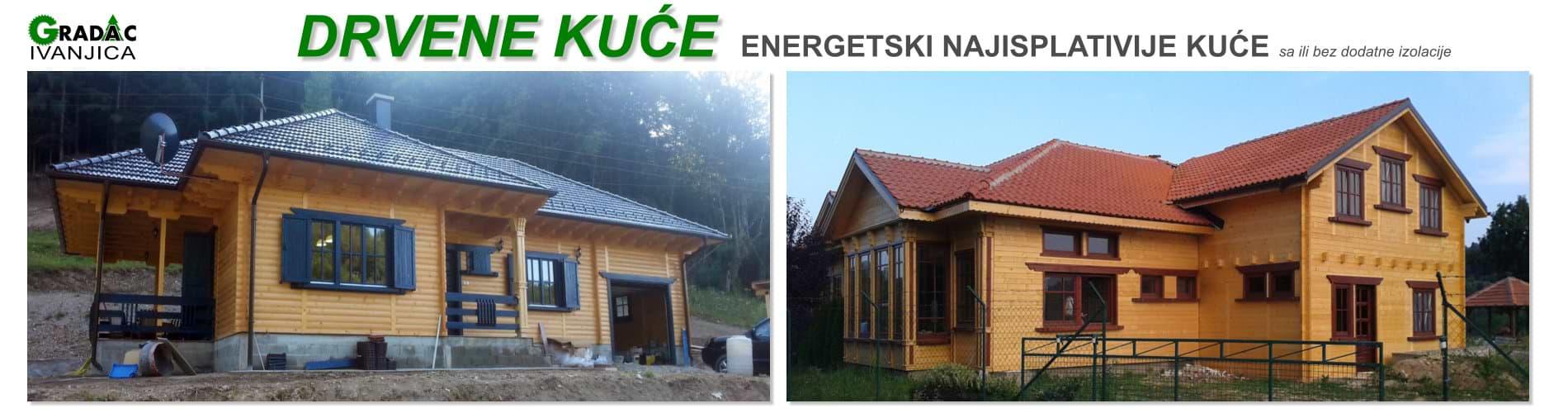 Drvene kuće - stolarija Gradac Ivanjica