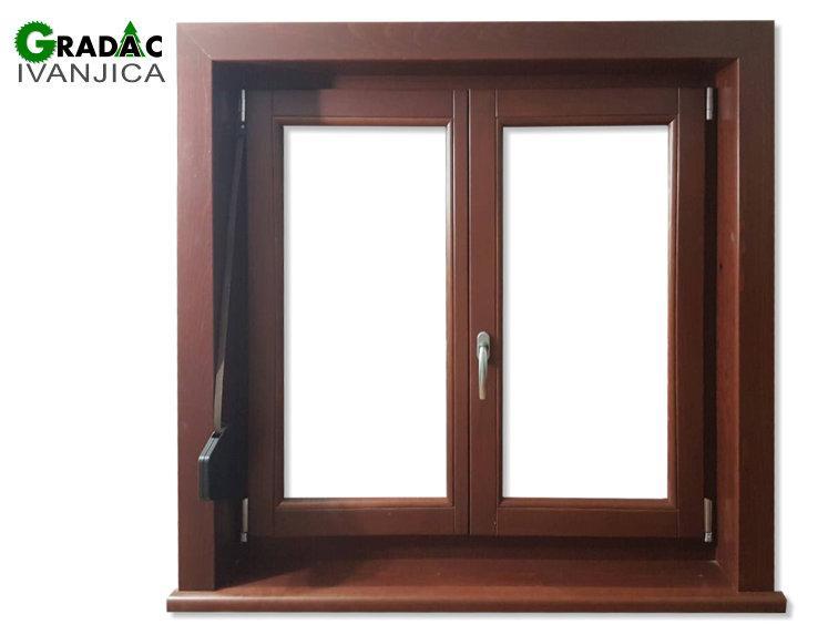 Drveni dvokrilni prozor, stolarija Gradac, Ivanjica