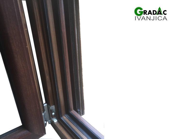 Drvo aluminijum prozor - profil