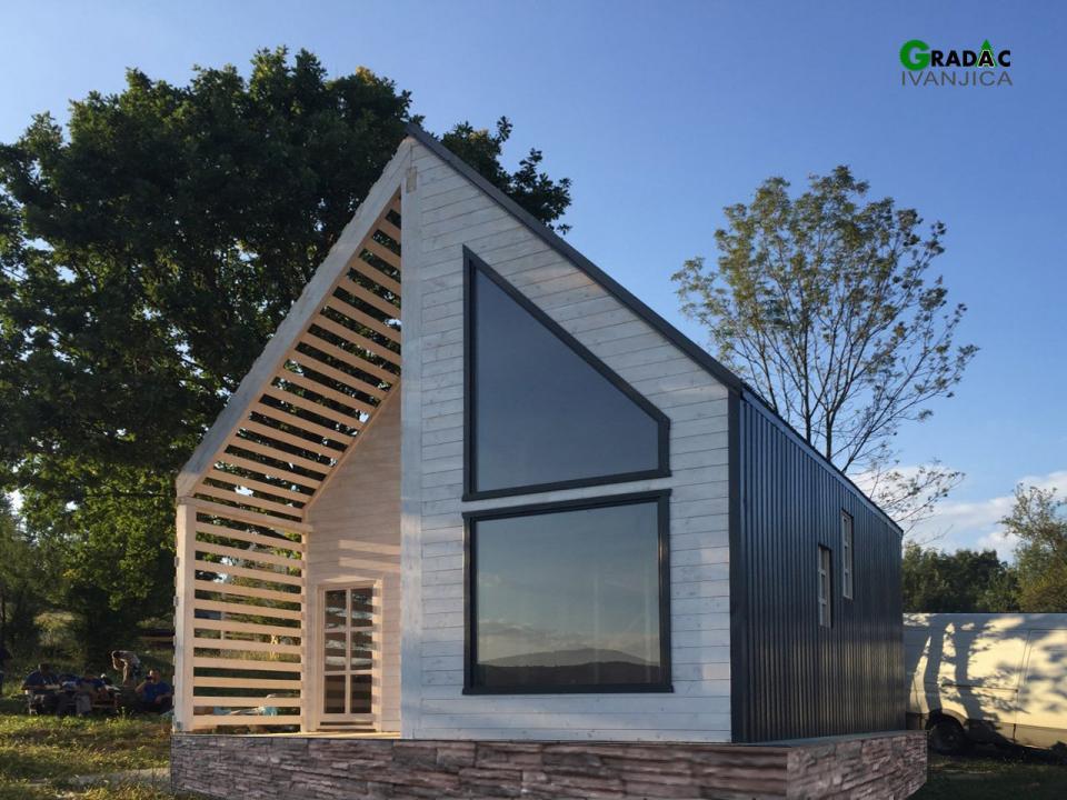 Moderna drvena kuća - stolarija Gradac Ivanjica