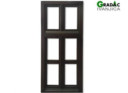 Drveni jednokrilni prozor - stolarija Gradac, Ivanjica