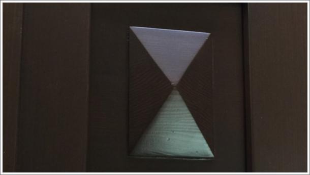 Drvena vrata - detalj, stolarija Gradac, Ivanjica