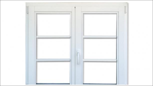 Drveni dvokrilni prozor od lameliranog drveta, euro falc 68, beli, unutrašnja strana - stolarija Gradac, Ivanjica