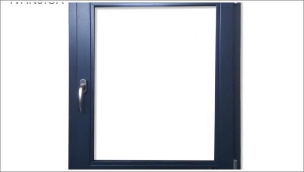 Drveni jednokrilni okretno - zakretani prozor od lameliranog drveta Eurofalc 68