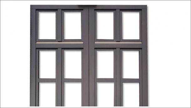 Drveni dvokrilni prozor - stolarija Gradac, Ivanjica