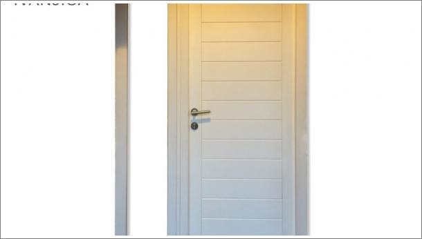 Dvokrilna ulazna vrata - vrata od punog drveta, krilo ostakljeno, stolarija gradac Ivanjica.