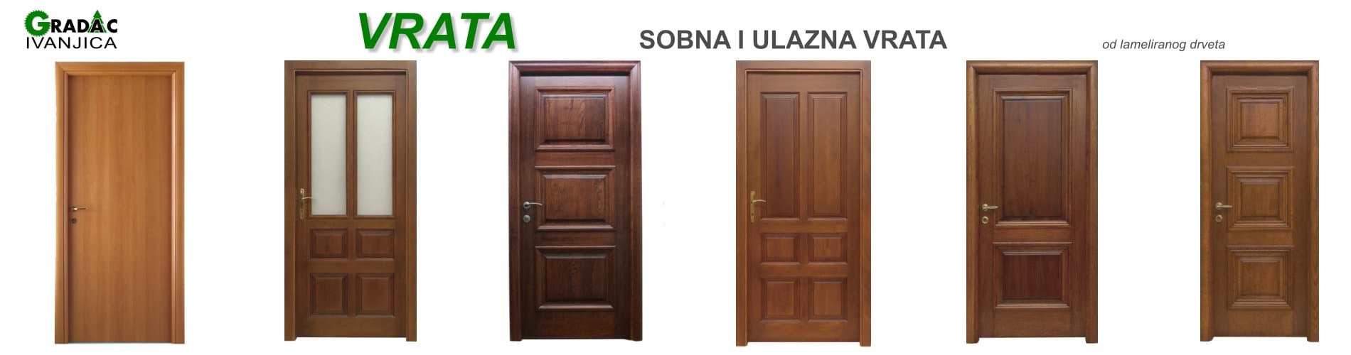 Vrata -  stolarija Gradac Ivanjica