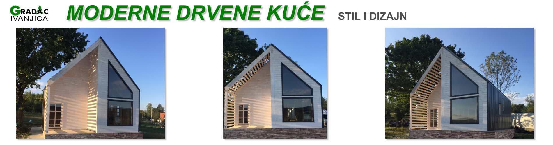 Moderne drvene kuće