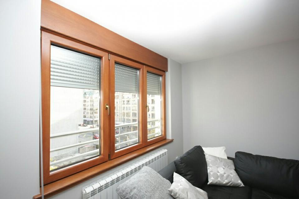 Drvo aluminijum prozori