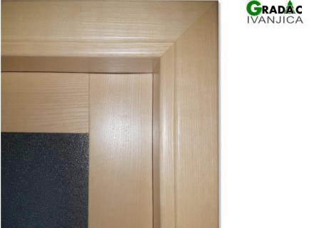 Sobna vrata, detalj vrata i štoka, stolarija Gradac, Ivanjica