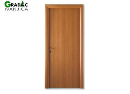 Sobna drvena vrata furnirana - stolarija Gradac Ivanjica