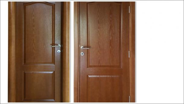 Drvena sobna vrata, stolarija Gradac, Ivanjica